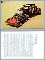 Vintage Car / Automobile Postcard - Raiders Coach - George Barris F34