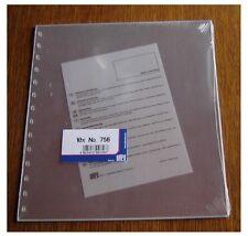 Safe Nr. 756  10 Blattschutzhüllen siehe Beschreibung