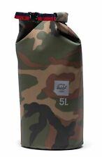 Herschel Dry Bag 5L Kleidersack Reiseaccessoire Tasche Braun Grün Neu