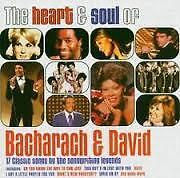Various The Heart & Soul of Bacharach & David CD Album VGC