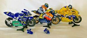 SCALEXTRIC JOBLOT BUNDLE MOTO GP SUPERBIKE - (LOU)