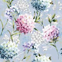 Papel 4x Servilletas Para Decoupage Decopatch Craft mezclado flores silvestres Blanco