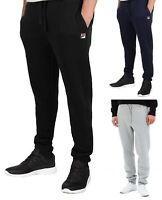 FILA New Mens Visconti Jogging Bottoms Sweat Jog Pants Trousers Black Blue Grey