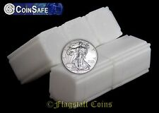 10 CoinSafe Square Coin Storage Tubes - Ten American Silver Eagle (ASE) - 41mm