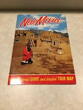 New Mexico Pictorial Guide And Detailed Tour Map.