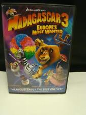 Madagascar 3 Europe's Most Wanted Dreamworks Movie Kids DVD