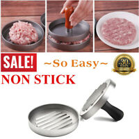 New Alloy burger patty making tools steak Maker for BBQ Party Home Kitchen Tools