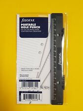 Filofax Locher Personal Portable Hole Punch 130119 95x171mm NEU!