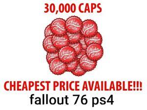 Fallout 76 30k (max) Caps ps4