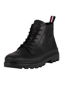 Palladium Men's Pallatrooper Leather Boots, Black