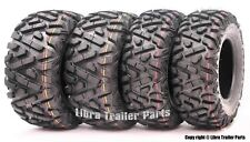 Set of 4  WANDA ATV/UTV Tires 24x8-12 Front & 24x10-11 P350 Similar to Big Horn