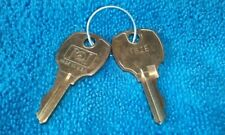 2 SLOT MACHINE  Keys 162E   BALLY WMS IGT KONAMI ARCADE CABINET LOCK KEYS