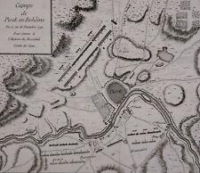 République tchèque camps de pisek en boheme 1741 Maréchal Comte de Saxe Písek
