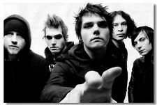 Poster My Chemical Romance Music Band Group Wall Club Room Cloth Print 201