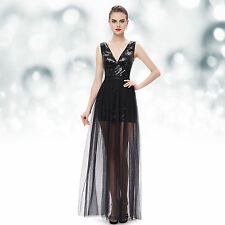 Sequin V-Neck Regular Size Sleeveless Dresses for Women