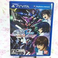 USED PS Vita Mobile Suit Gundam Seed Battle Destiny PSV 94637 JAPAN IMPORT