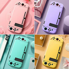 Pure Color Protective Hard Shell Skin Cover Case For Nintendo Switch Console