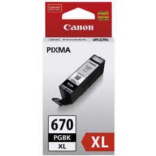 Genuine Canon PGI-670XL Black Ink 670XL PGBK MG5765 MG6866 MG7760 TS6060 TS9060