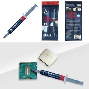 Genuine Cooling MX-4 Thermal Compound Paste CPU No Silver for All Coolers