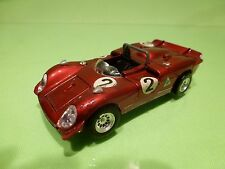MEBETOYS 6612 ALFA ROMEO 33/3 - METALLIC RED 1:43  - GOOD CONDITION