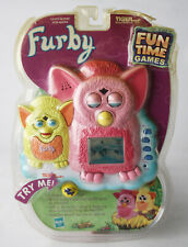 RARE 2000 FURBY FUN TIME GAMES HANDHELD LCD GAME TIGER ELECTRONICS NEW !