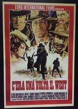 C'era Una Volta Il West poster film  70x100