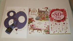 80 YEAR OLD BIRTHDAY CARDS