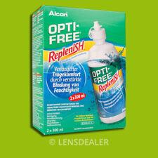 »» OPTI-FREE REPLENISH 2 x 300ML DOPPELPACK KONTAKTLINSEN PFLEGEMITTEL «« ALCON