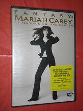 DVD MUSICALE DA COLLEZIONE -FANTASY MARIAH CAREY-madison square garden-SIGILLATO