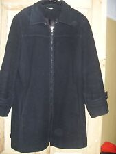 Klass Collection. Light Black Wool Coat