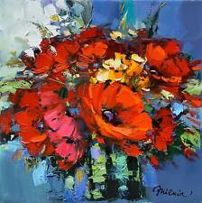 "Michael Milkin  ""Flowers for my Love"", original, oil on canvas"