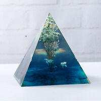 1X Super durable Pyramid Silicone Mold DIY Resin Craft Jewelry Mold Tool 5*5CM T