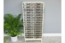 Tall Industrial Retro 30 Drawer Metal Cabinet