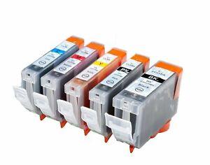Compatible PGI-5BK / CLI-8 5-Set Ink Cartridges for Canon ip4200x