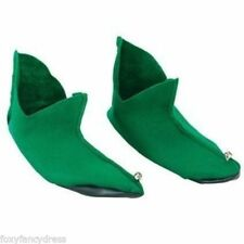 Chaussures verts noël pour déguisement et costume