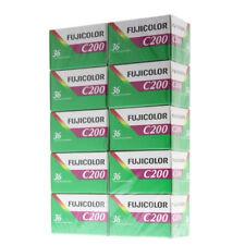 10 Rolls of  Fujifilm 35mm 36 Exposures  ISO 200 Color Print Film
