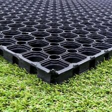 2 Rubber Grass Mat Horse Stable 1500mm x 1000mmx 16mm FREE Fixings FREE Delivery