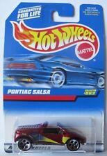 1998 HOT WHEELS - Red PONTIAC SALSA - #862 --- Next Day BOX Shipping