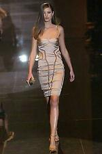 89b53d6a3 Gucci Spring 2005 Beige Silk Runway Dress