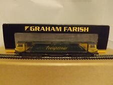 "GRAHAM FARISH 371-635..A CLASS 70 DIESEL LOCOMOTIVE ""FREIGHTLINER"" N GAUGE MINT."