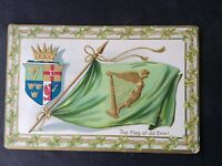 VTG St. Patrick's Day Postcard FLAG OF OLD ERIN! Raphael Tuck &Sons #172