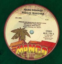 "Manu Dibango – Goro City / Reggae Makossa - Vinyl, 12""  COLOR"