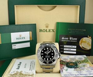 ROLEX - 44mm Mens Stainless DEEPSEA SeaDweller Black 126660 - SANT BLANC