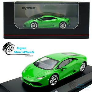 Kyosho 1:64 Lamborghini Huracan Coupe Bright Green Diecast Model