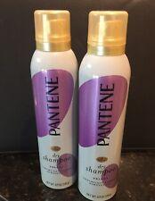 Lot of 2 - Pantene Pro V Sheer Volume Dry Shampoo No Water Refresh Clean 4.9 oz