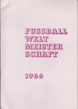 "Fussball Album Kunold ""FUSSBALL WELTMEISTERSCHAFT 1966"" - Almost Complete & TOP"