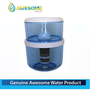 AWESOME WATER® - 20L BOTTLE SET (BPA FREE.) + 1 x 8 STAGE FILTER - PREMIUM