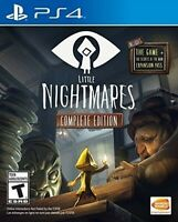 PLAYSTATION 4 PS4 VIDEO GAME LITTLE NIGHTMARES COMPLETE EDITION BRAND NEW SEALED