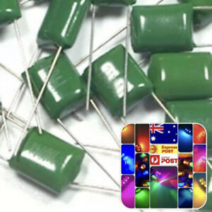 140PCS 630V Mylar Film Capacitor assorted 2J102J~2J683J 1nF~68nF 14value x 10pcs