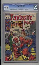 Fantastic Four #91 CGC 9.2 NM- Unrestored Marvel Skrulls WHITE Pages